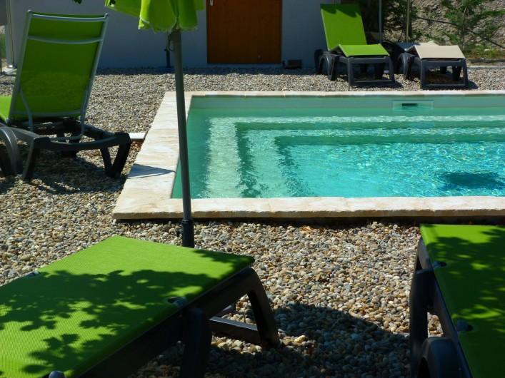 Location de vacances - Insolite à Richerenches - 2ème piscine réservée aux adultes