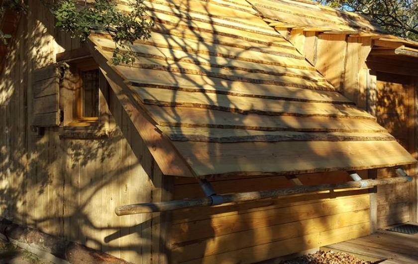 Location de vacances - Insolite à Richerenches - Lodge Cabanon avec accès PMR