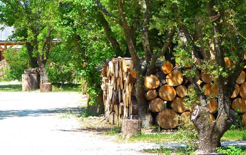 Location de vacances - Insolite à Richerenches - Flânez dans les allées...