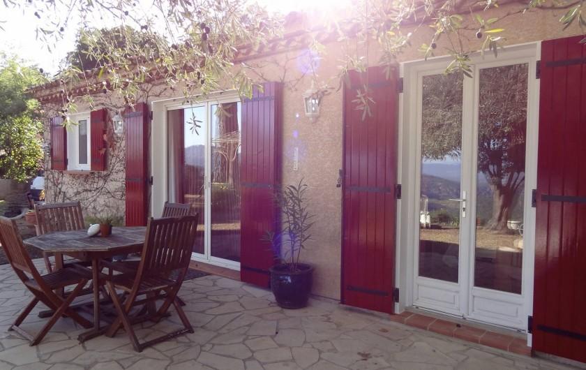 Location de vacances - Villa à Le Muy - LA MAISON