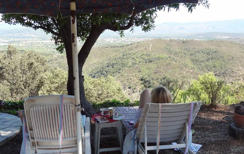 Location de vacances - Villa à Le Muy - VUE IMPRENABLE