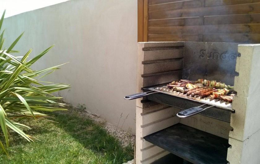 Location de vacances - Villa à Lézignan-Corbières - Barbecue Fixe