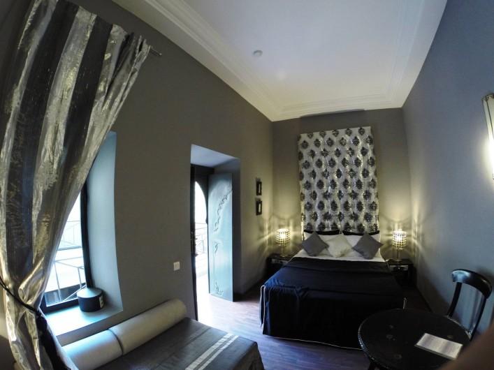 Location de vacances - Chambre d'hôtes à Marrakech - Chambre Jade triple