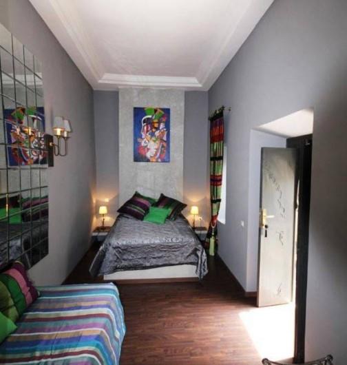 Location de vacances - Chambre d'hôtes à Marrakech - Chambre Malachite triple