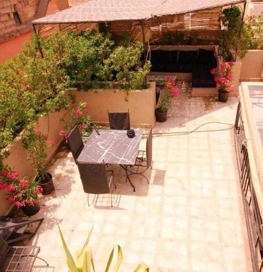 Location de vacances - Chambre d'hôtes à Marrakech - Terrasse