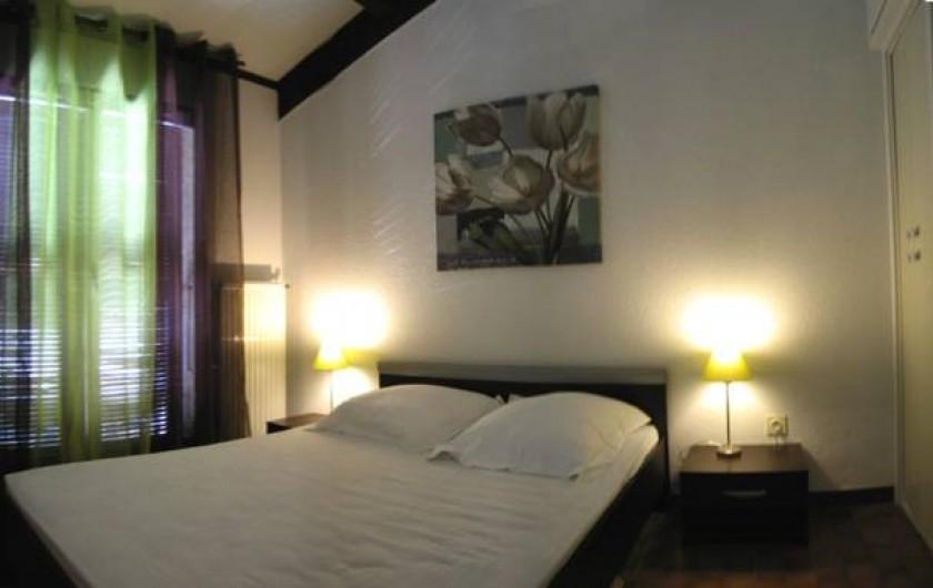 Location de vacances - Appartement à Saint-Cyprien Plage - chambre