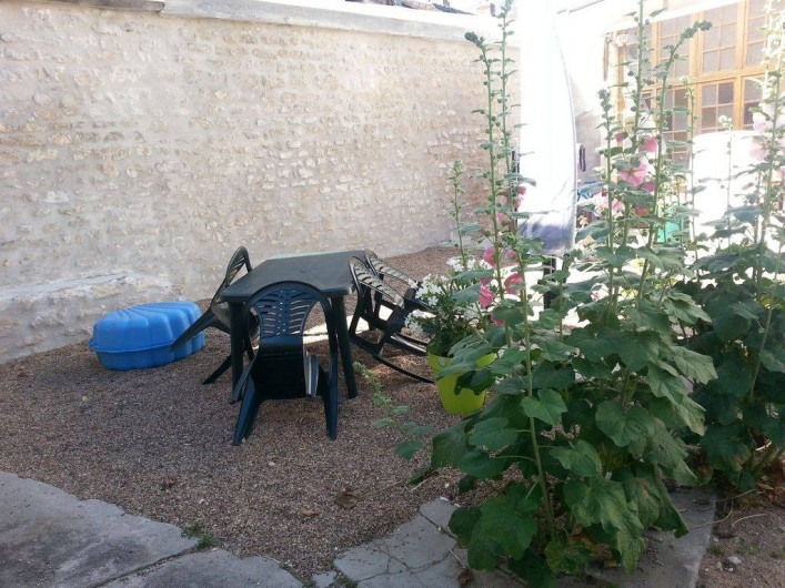Location de vacances - Appartement à Pouilly-sur-Loire - Terrasse