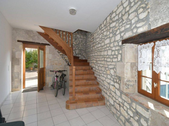 Location de vacances - Appartement à Pouilly-sur-Loire - Entrée rez de chaussée