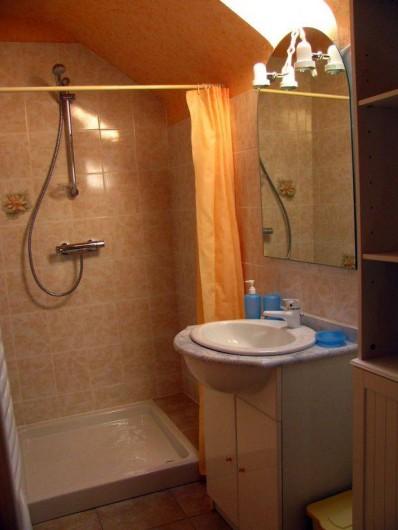 Location de vacances - Appartement à Pouilly-sur-Loire - Salle d'eau; douche et WC