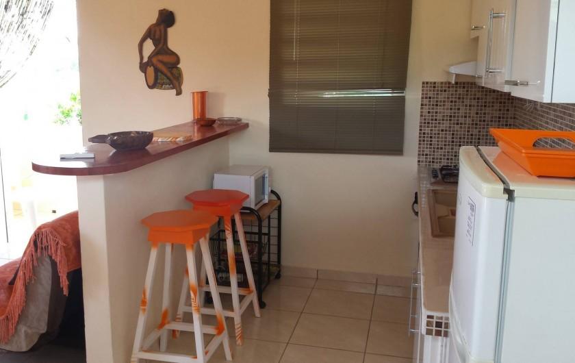 Location de vacances - Studio à Sainte-Anne - Coin cuisine