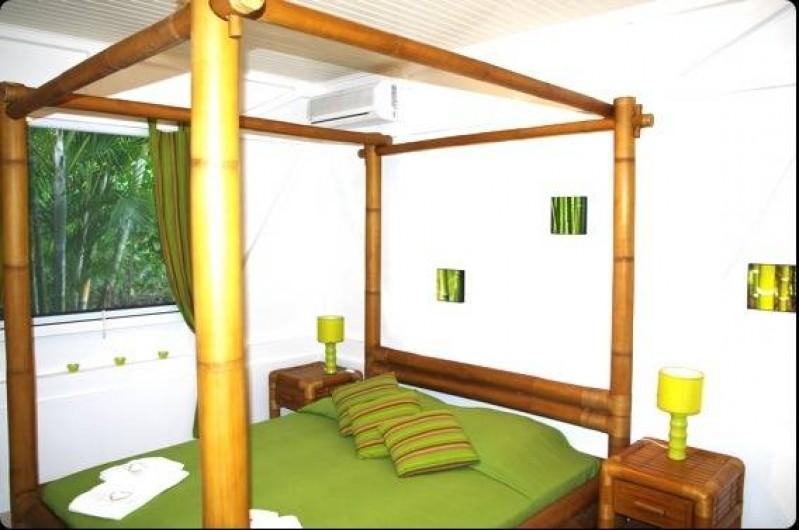 Location de vacances - Villa à Sainte-Luce - Chambre Bambou
