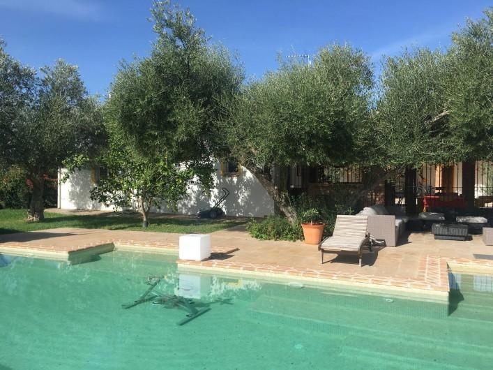 Location de vacances - Villa à Villamartin - LA PISCINE ET LA TERRASSE