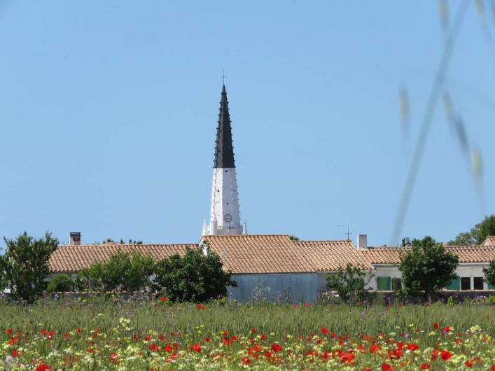 Location de vacances - Villa à Ars-en-Ré - Le clocher (Amer) ARS EN RE