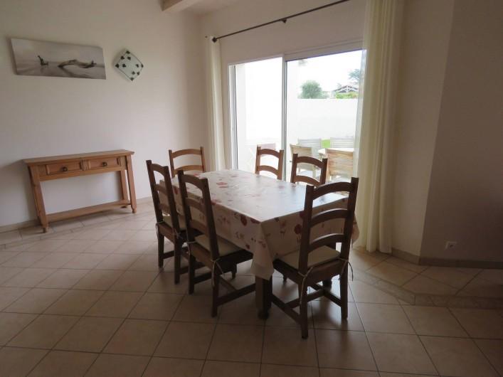 Location de vacances - Villa à Ars-en-Ré - Salle à manger