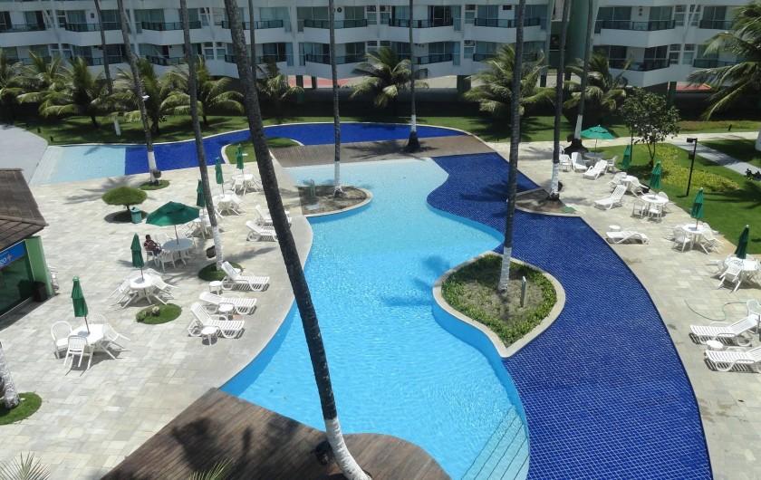 Location de vacances - Appartement à Porto de Galinhas - Piscine