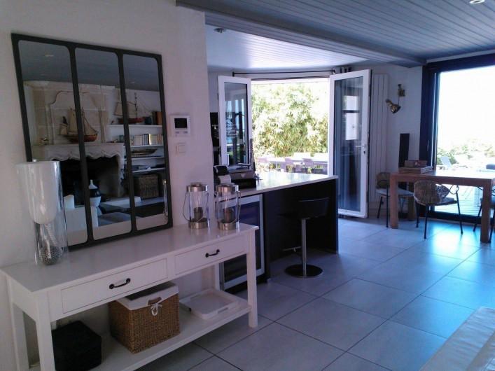 Location de vacances - Villa à La Flotte - Entrée salon