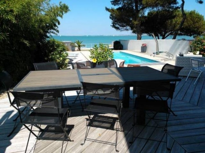 Location de vacances - Villa à La Flotte - Terrasse 1