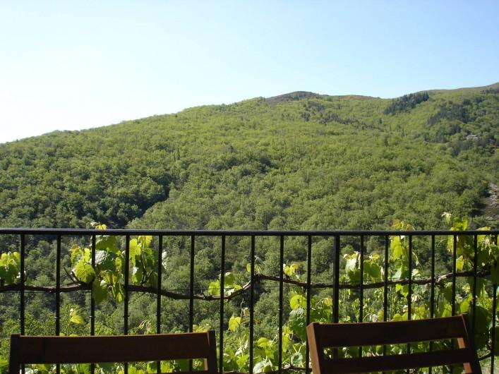 Location de vacances - Villa à Le Pompidou - Vue sur la châtaigneraie