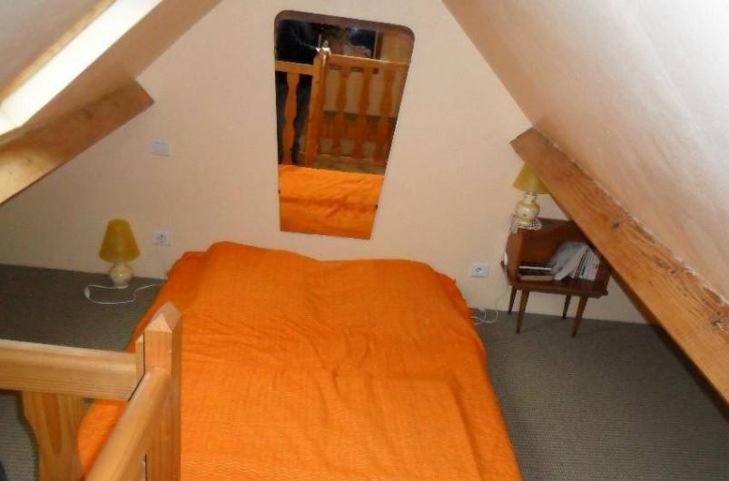 Location de vacances - Gîte à Berville-sur-Mer - chambre mezzanine
