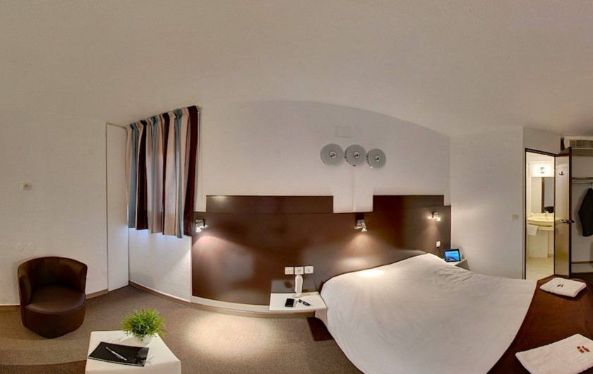 Location de vacances - Hôtel - Auberge à Villeneuve-lès-Béziers - Chambre double supérieur