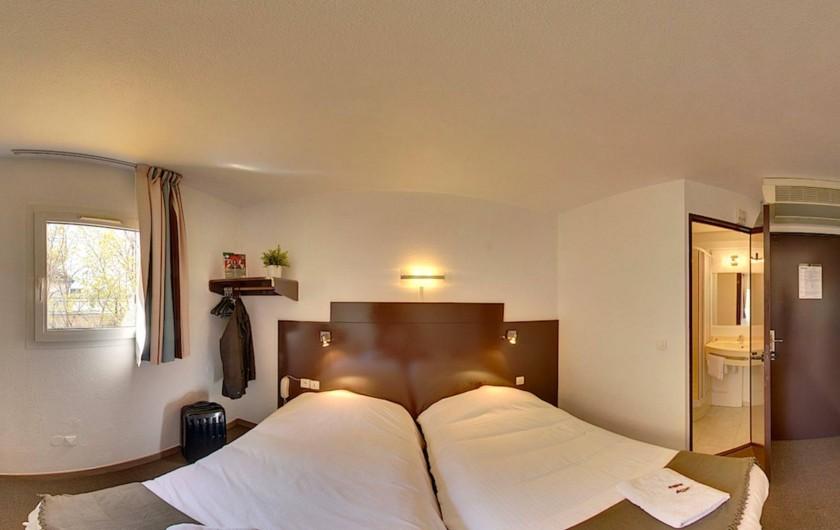 Location de vacances - Hôtel - Auberge à Villeneuve-lès-Béziers - Chambre double Standard 2 Lits