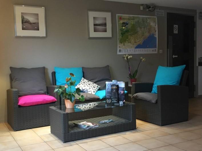 Location de vacances - Hôtel - Auberge à Villeneuve-lès-Béziers - Espace Detente Salon de Réception
