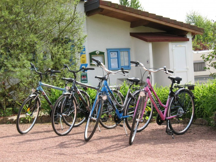 Location de vacances - Camping à Langres - Location de vélos