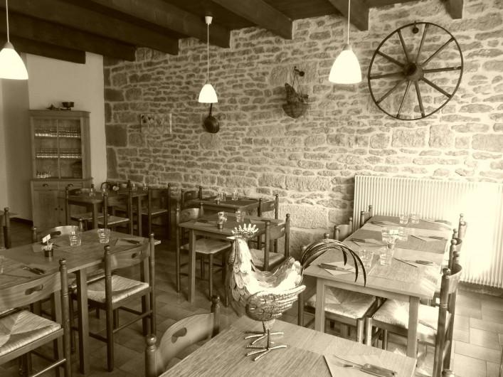 Location de vacances - Camping à Langres - La salle de restaurant