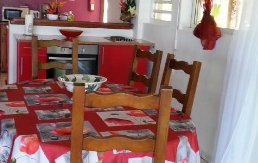Location de vacances - Appartement à Sainte Rose