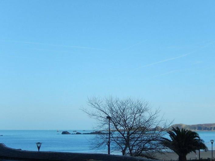 Location de vacances - Appartement à Perros-Guirec - vue de la terrasse