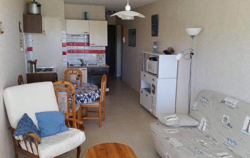 Location de vacances - Appartement à Perros-Guirec - vue generale de l'appartement