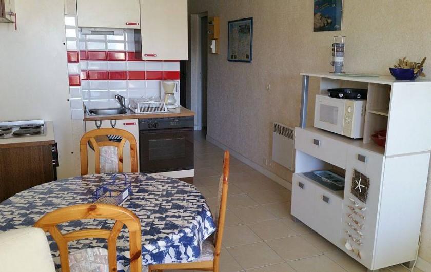 Location de vacances - Appartement à Perros-Guirec - coin cuisine
