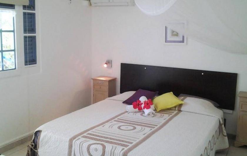 Location de vacances - Hôtel - Auberge à Capesterre-de-Marie-Galante - Chambre CAFE DUO