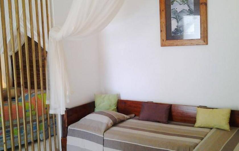 Location de vacances - Hôtel - Auberge à Capesterre-de-Marie-Galante - Suite supérieure BONHEUR NATURE