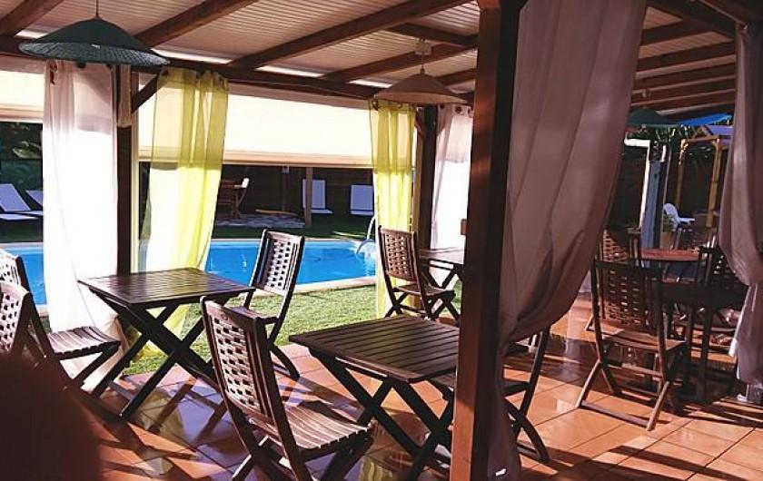 Location de vacances - Hôtel - Auberge à Capesterre-de-Marie-Galante - SALLE PETITS DEJEUNERS