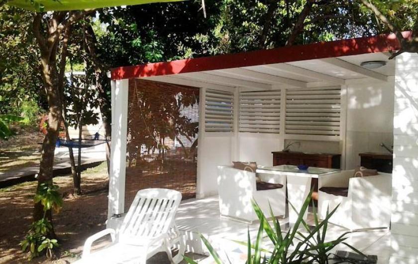 Location de vacances - Hôtel - Auberge à Capesterre-de-Marie-Galante - Bungalow JARDIN VANILLE