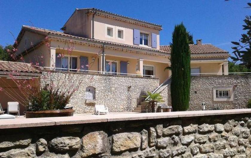Location de vacances - Appartement à Grignan - villa