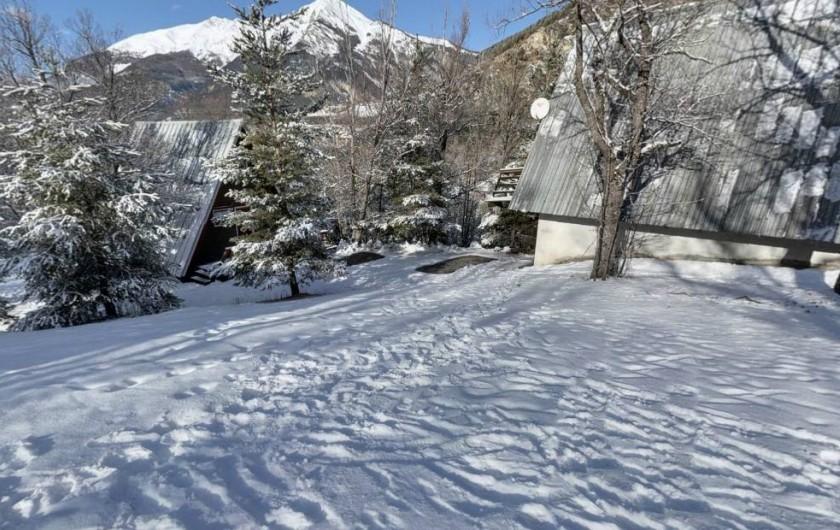Location de vacances - Chalet à Jaussiers