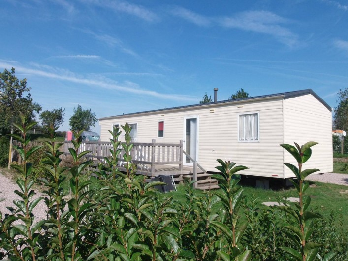Location de vacances - Bungalow - Mobilhome à Oye-Plage - mobil-home 6 couchages