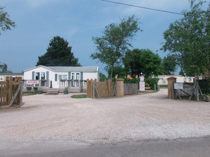 Location de vacances - Bungalow - Mobilhome à Oye-Plage - accueil