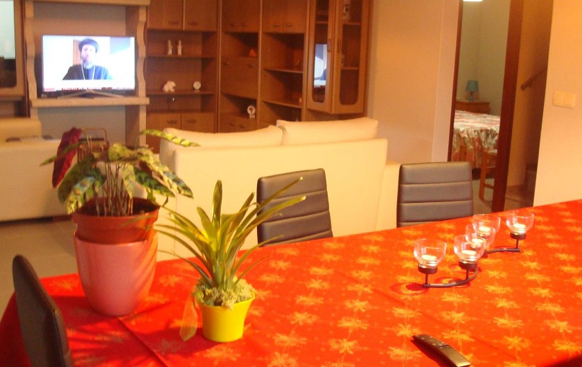 Location de vacances - Villa à Cepães - Salle a manger intérieur