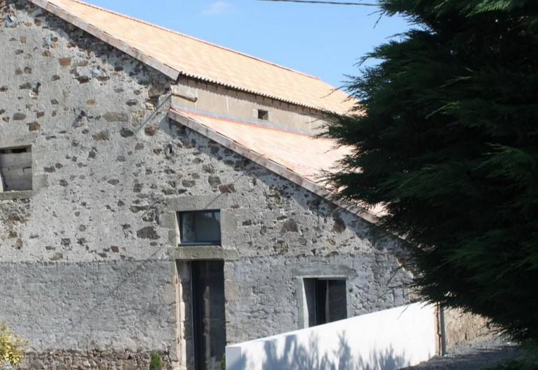 Location de vacances - Chambre d'hôtes à Saint-André-de-la-Marche - Entrée de la chambre Nature