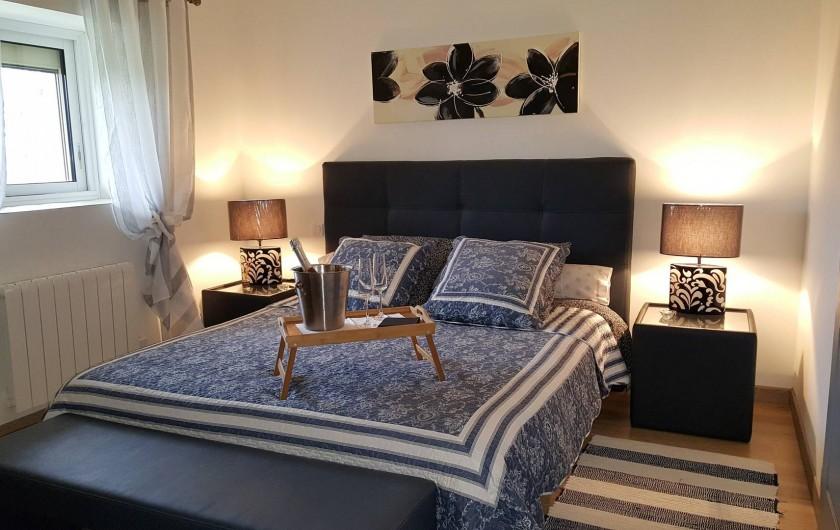 Location de vacances - Chambre d'hôtes à Saint-Caprais-de-Bordeaux - CHAMBRE CUVEE PRESTIGE