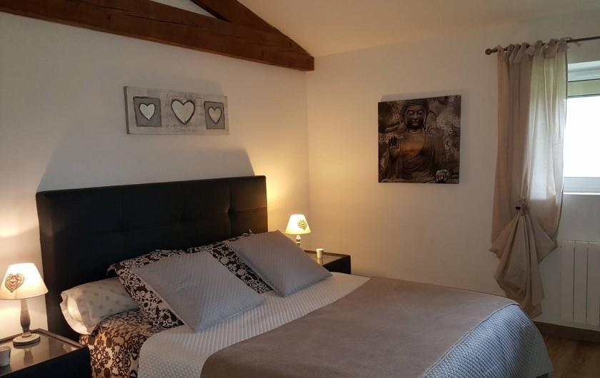 Location de vacances - Chambre d'hôtes à Saint-Caprais-de-Bordeaux - CHAMBRE L'OMBRIERE SUITE PARENTALE