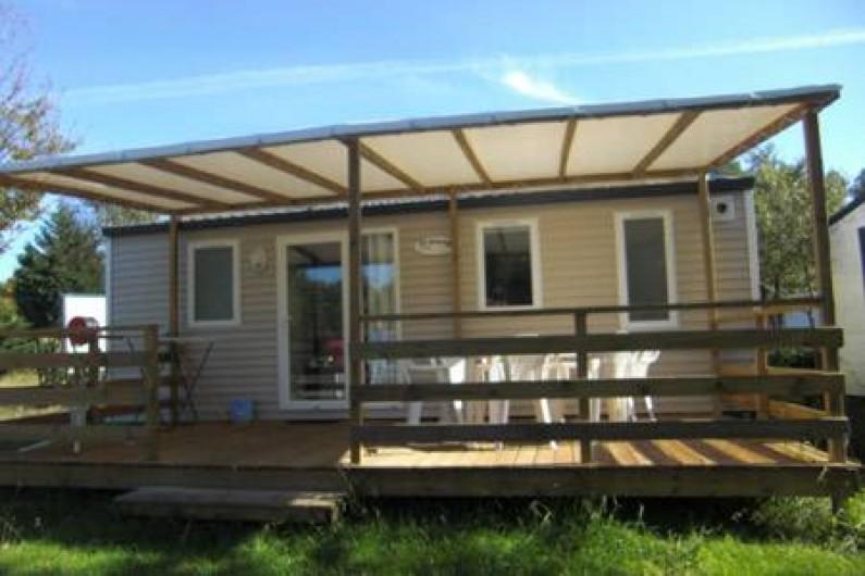 Location de vacances - Camping à Sainte-Eulalie-en-Born - mobil-home 2 chambres