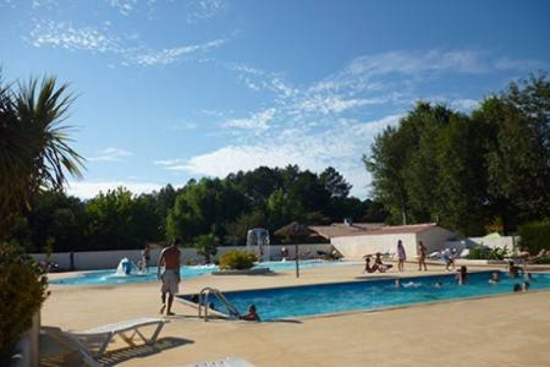Location de vacances - Camping à Sainte-Eulalie-en-Born
