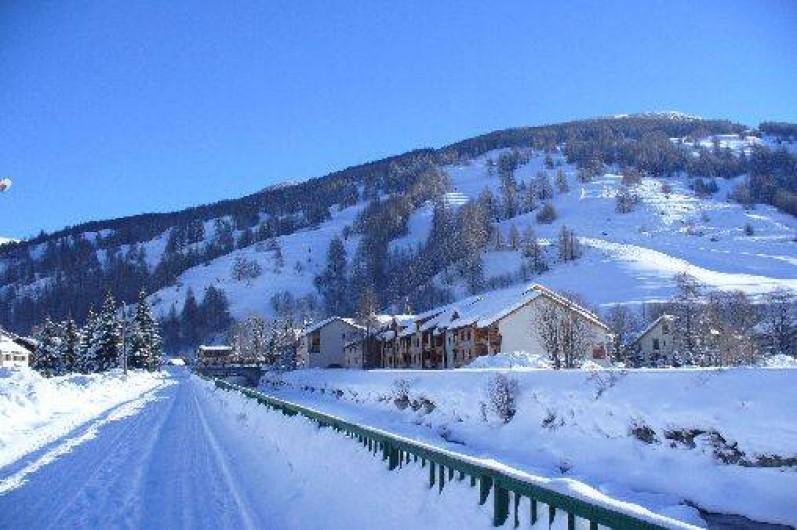 Location de vacances - Appartement à Abries - La neige!!!