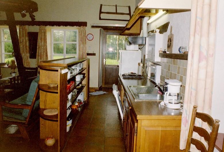 Location de vacances - Gîte à Libin - Living cuisine