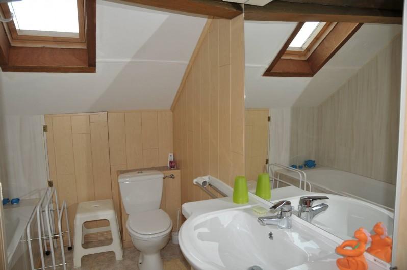 Location de vacances - Gîte à Libin - 1ère salle de bain