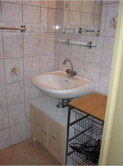 Location de vacances - Appartement à Étables - salle d'eau